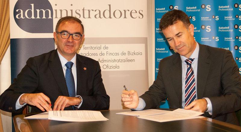 Renovación del Convenio de Colaboración firmado con Banco Sabadell
