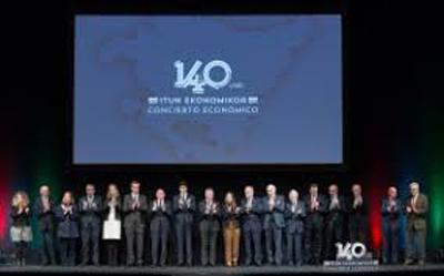 CAFBIZKAIA en el acto por el 140 Aniversario de la Promulgación del Concierto Económico
