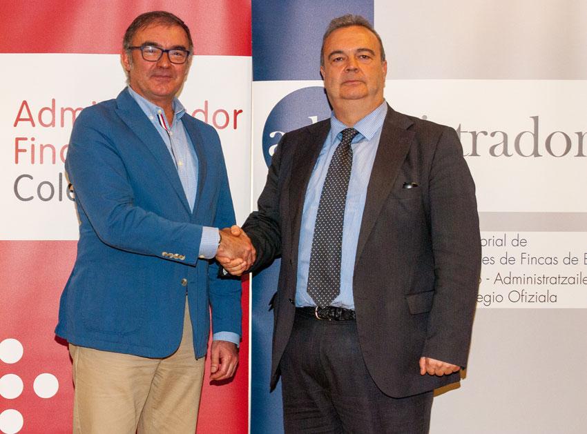 Firma de la addenda al Convenio de Colaboración entre la UBU y el CGCAFE