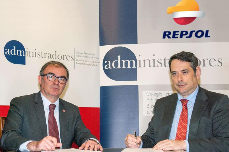 Renovación del Convenio de Colaboración firmado con REPSOL