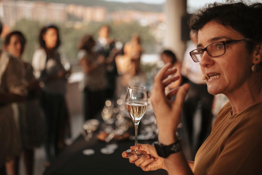 Cata formativa en vinos espumosos