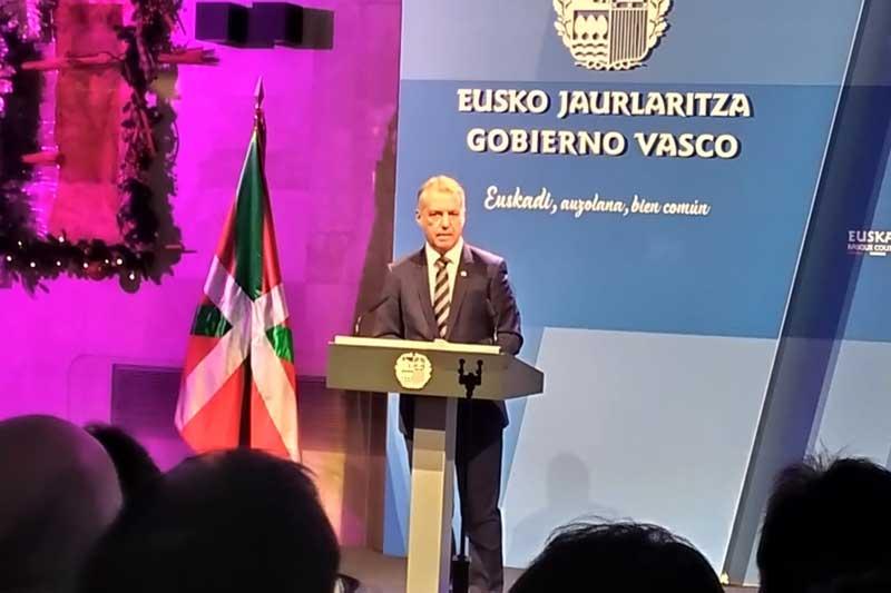 CAF Bizkaia acude a la recepción ofrecida por el Lehendakari del Gobierno Vasco Sr. Iñigo Urkullu a los representantes de la Sociedad Vasca.