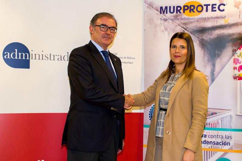 CAFBIZKAIA firma un convenio de patrocinio y colaboración con la compañía MURPROTEC